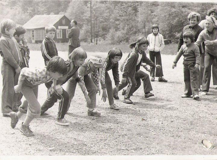 Školáci na výlete v Papradne